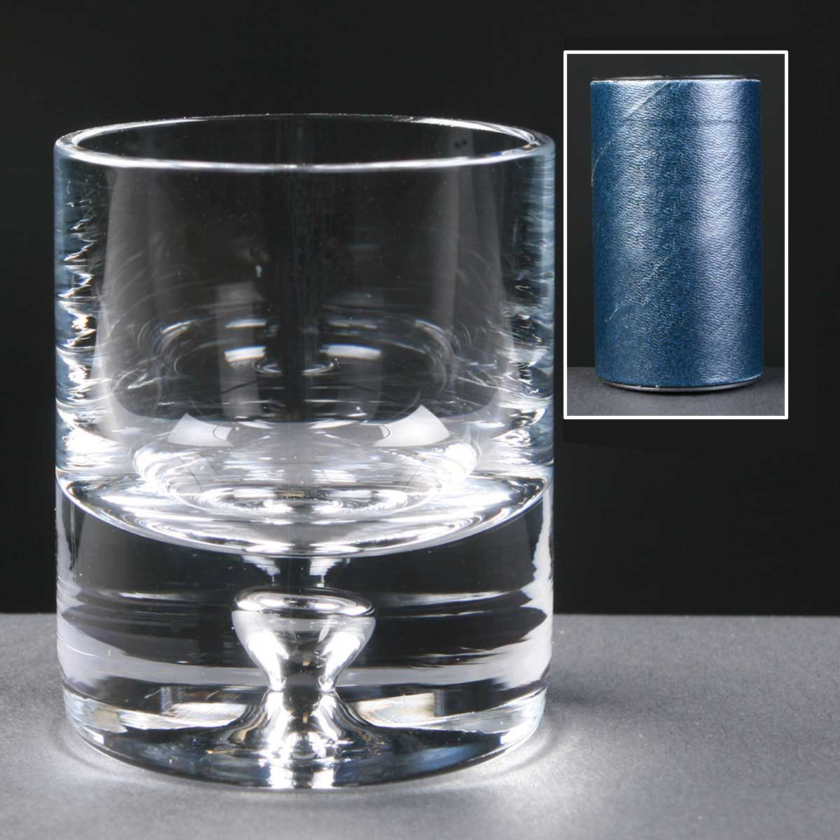 Engraved Balmoral Glass Shot Glass, for give-aways.