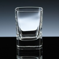 Square Strauss Shot Glass, Printed for Sales Award