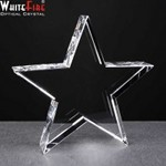 Engraved Optical Crystal Star for Engraving Gift.