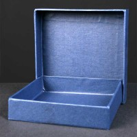 Rigid Box for Coasters and Paperweights up to 90mm Square, 3.98x3.98x0.98  inches, Single, Bulk